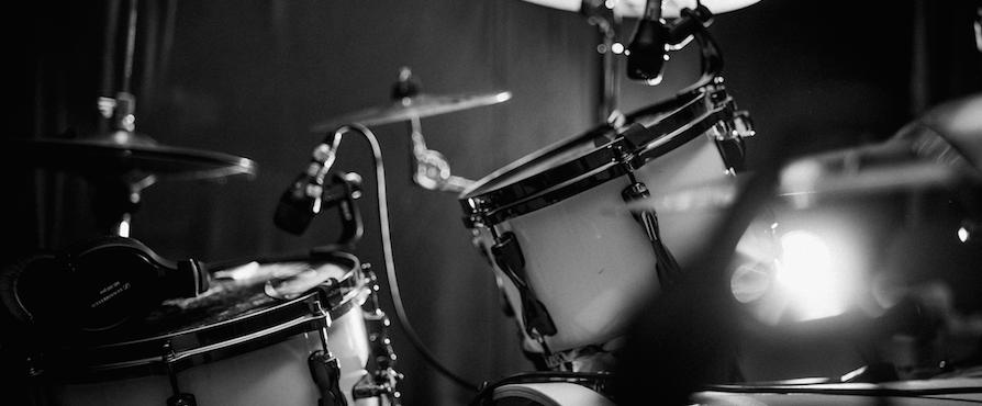 """Drumset im Tonstudio """"Tama Superstar Hyperdrive"""""""