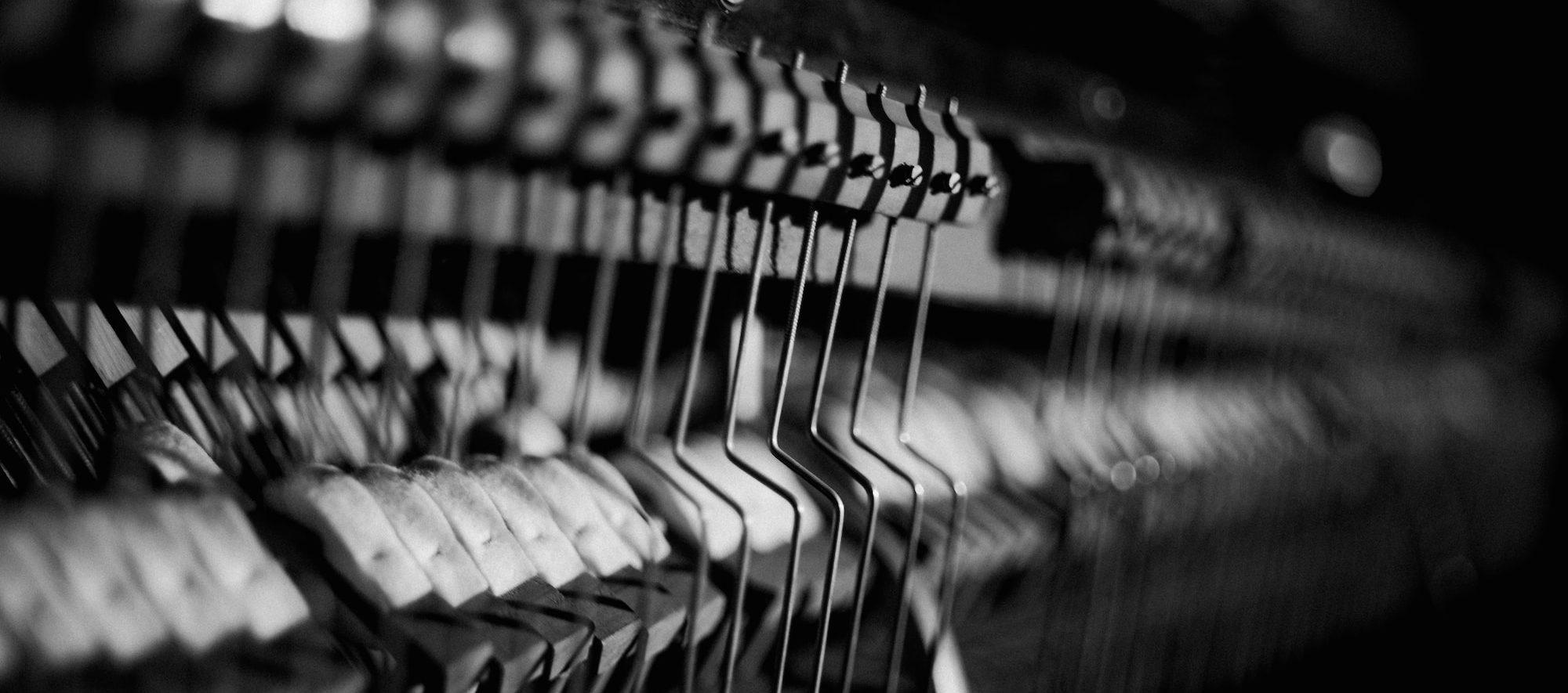 "Für die Filmmusik: Piano im Tonstudio ""Rud. Ibach Sohn"""